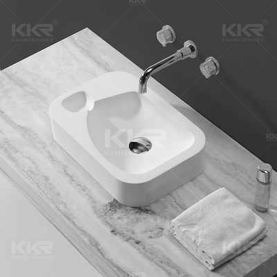 Lavabo a mano in superficie solida KKR-1512